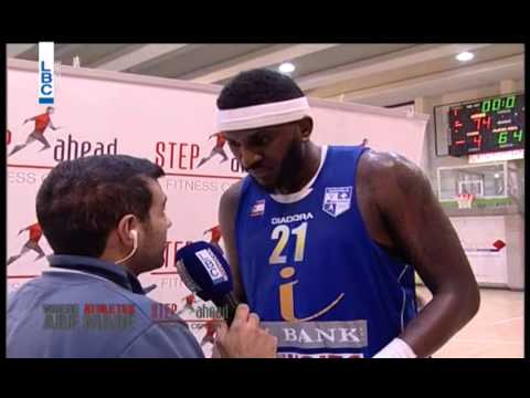Pepsi Lebanese Basketball Championship 14/15 - Interview with Kevin Pikney