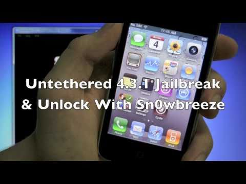 How To Jailbreak 5.1.1/5.0.1 Untethered & Unlock iPhone 4S/4/3Gs iPod 4G/3G & iPad - 4.11.08/5.16.05