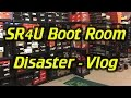 The SR4U Boot Room is a Disaster - Vlog