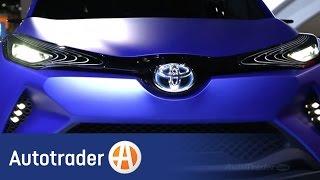Toyota C-HR Concept | 2014 Paris Auto Show | AutoTrader