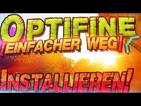 Minecraft Mods ➽ Optifine 1.8.1 Installation   Mehr FPS mod   German Deutsch   Mac + Windows