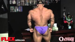 Big Ramy Posing session 3.5 Weeks from 2013 Olympia