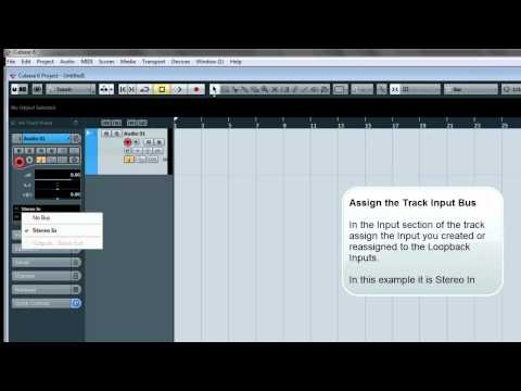 How To Use Total Mix FX Loopback feature for capturing Windows Audio into Steinberg Cubase 6