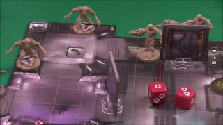 DOOM the Board Game - Tutorial Mission Round 1 (by Black Belt Gaming)