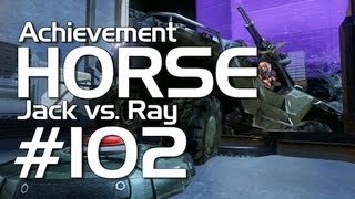 Halo 4 - Achievement HORSE #102! (Jack vs. Ray)