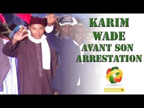 voici karim  wade avant son arrestation