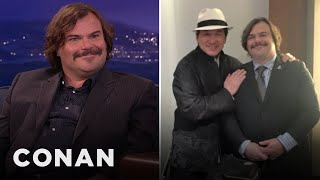 Download Song Jack Black's New Buddy Movie With Jackie Chan  - CONAN on TBS Free StafaMp3