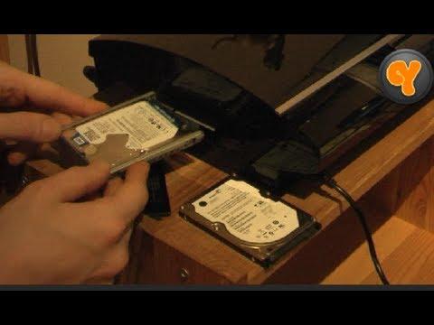 PS3: Festplatten-Wechsel von A bis Z