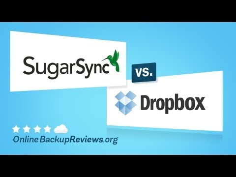 SugarSync vs. Dropbox - Battle of Cloud Storage Services