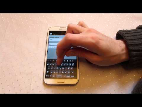 NFC URI Creation on Galaxy Note 2 Near Field Communication - Practical NFC