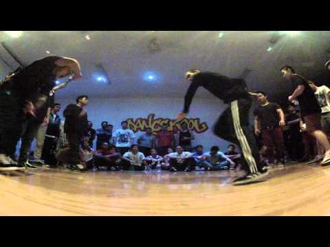 Round3 - JUSE vs FLAVAWAVE - Sydney Bboy League 2