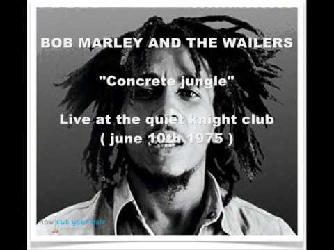 Bob Marley and The Wailers - Concrete jungle live 1975