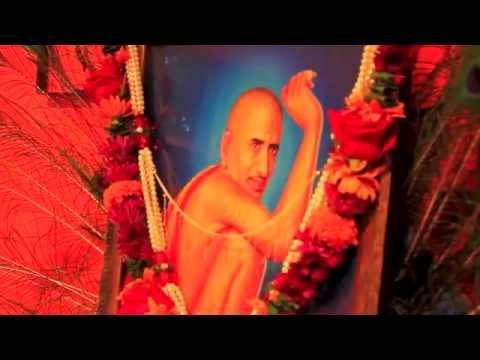 Shri Gajanan Maharaj's (shegaon) Palaki Sohala. Irvine, Ca. 6th Sep 2014. video
