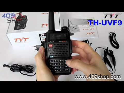 TYT TH-UVF9 Dual Band Radio 136-174/400-470Mhz
