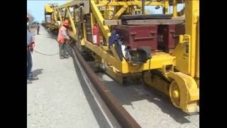 New Railways Track Construction Machine