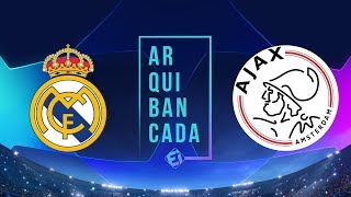 REAL MADRID X AJAX (NARRAÇÃO) - CHAMPIONS LEAGUE