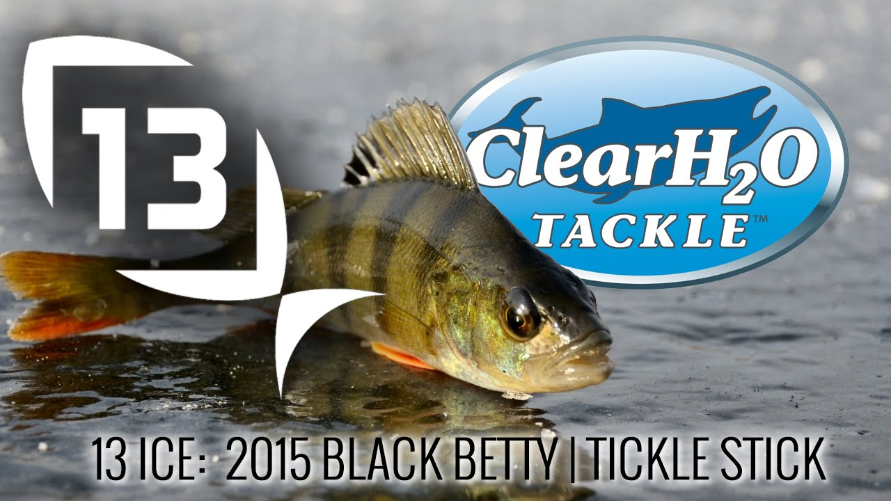 13 fishing ice 2015 black betty tickle stick for 13 ice fishing