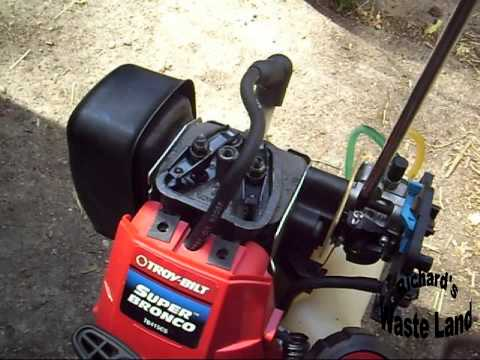 Fixing Troy Bilt 4 Cycle Weed Eater
