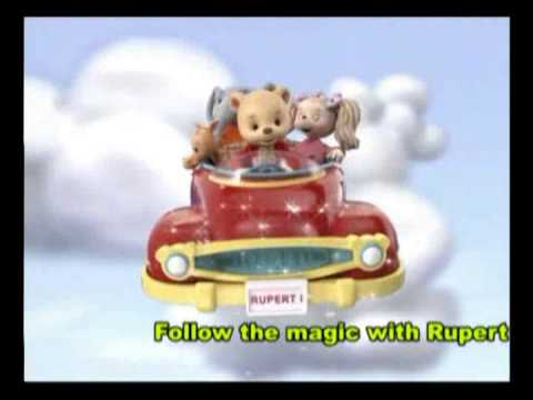Rupert the Bear Filmpjes, DVD's, afleveringen en informatie Rupert Bear Nick Jr