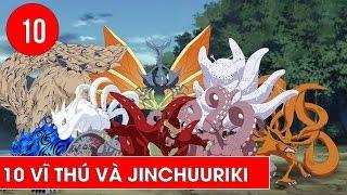 Top 10 vĩ thú và Jinchuuriki trong Naruto