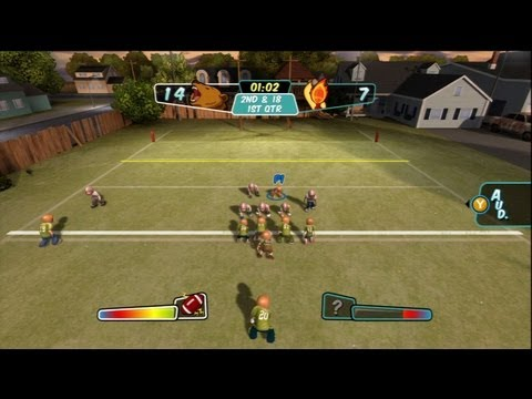 BACKYARD FOOTBALL - PREPARE FOR BATTLE!