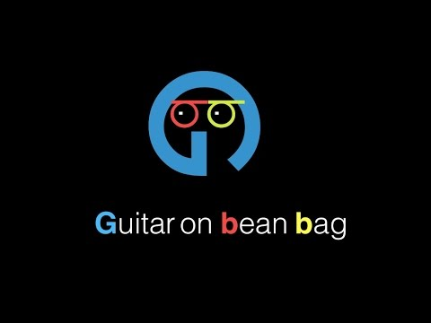 Guitar on Bean Bag - First video - Ye no.1 yaari hai  - cover by Yash Bora