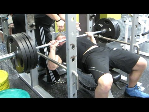 Hitting 405 Pounds on Bench Press | Furious Pete Image 1