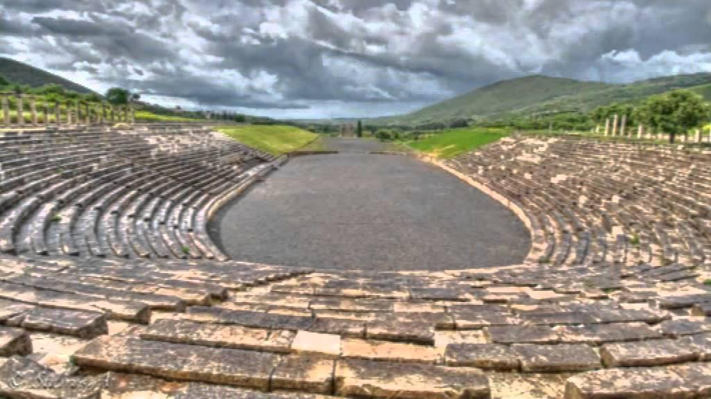 Ancient Stadium  Olympia
