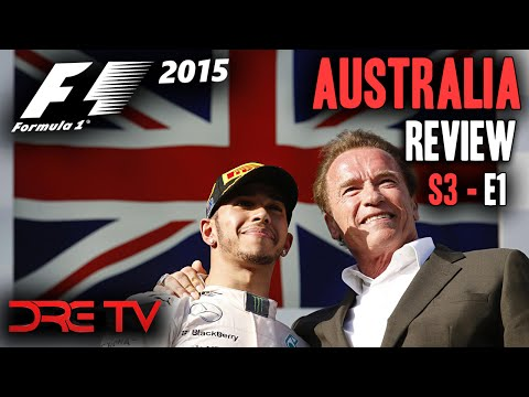 Dre TV [S3E1] - 2015 Australian Grand Prix Review (F1 2014)