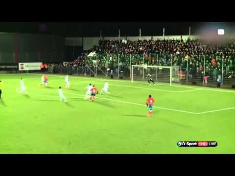 Henrik Larsson's son scores a screamer