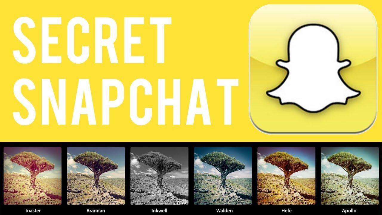comment avoir de nouveaux filtres sur snapchat