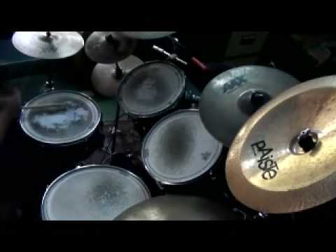 five finger death punch - the bleeding drum cover Video