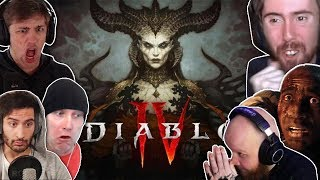 Streamers React to Diablo 4 Announcement at Blizzcon [Soda, TimTheTatman, forsen, Swifty, Asmongold]