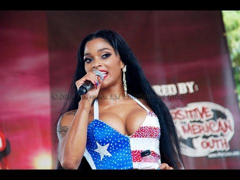 """La Negra"" - Joseline Hernandez & Stevie J Live @ Hot 107.9 #BirtdayBash19 Block Party"