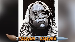 Sasha Banks becomes The Boss of the canvas: WWE Canvas 2 Canvas
