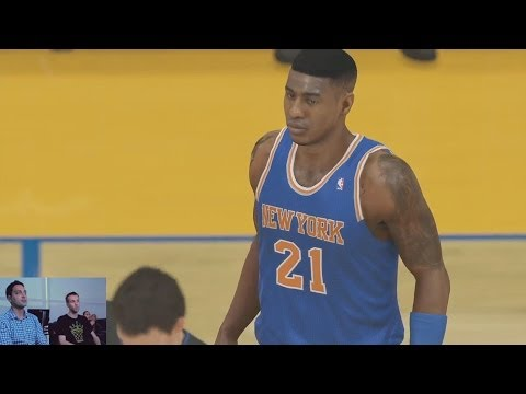 NBA 2K14 PS4 Next Gen Full Game - Knicks vs. Warriors