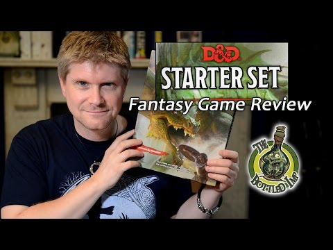 'Dungeons & Dragons 5th Edition Starter Set'- Fantasy Role Playing Game Review
