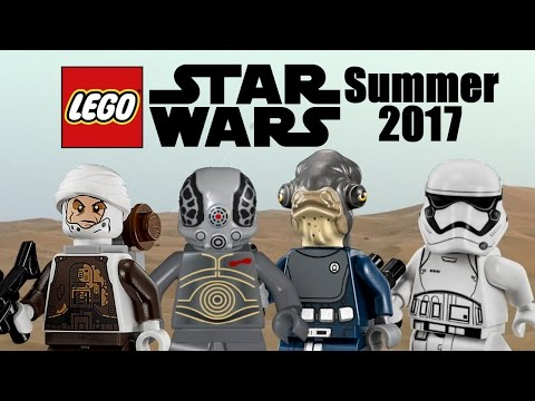 LEGO Star Wars Summer 2017 minifigures info and more rumors!