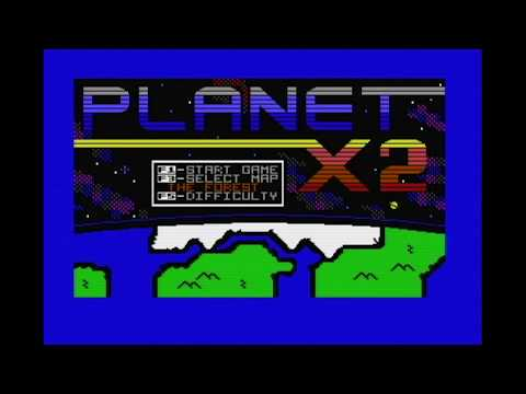 C64 Game - Planet X2 Longplay - The Forest on difficulty Medium - 720p/50Hz