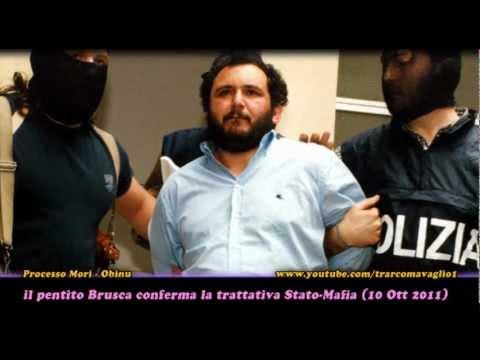 il pentito Brusca conferma la trattativa Stato-Mafia al processo Mori (10ott2011)