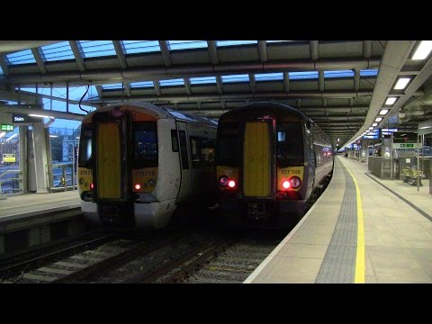 Time (London Blackfriars) - 07:55 to 08:20 Time (London Victoria) - 08:40 to 09:45 Another Southeastern morning rush hour video, at London Blackfriars briefly and then London Victoria. I was...