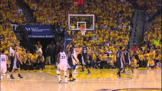 Stephen Curry's Slick Behind-the-Back Assist to Green