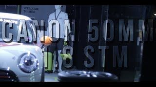 Canon 50mm 1.8 STM Video Test (Low Light & Daylight)   Cinematic Film Look  