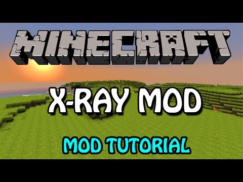 Minecraft 1.7.10: X-RAY Mod Tutorial (Auto Installation)