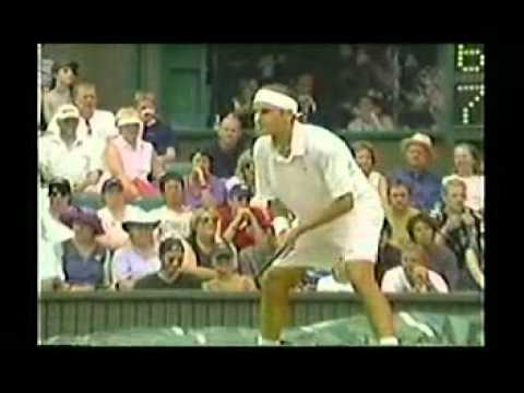 ロジャー フェデラー vs Pete サンプラス--- ウィンブルドン 2001