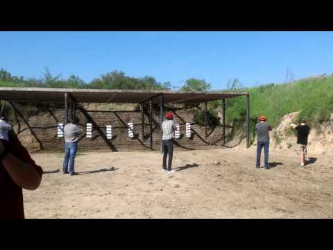 Shooting full auto machine guns(2)
