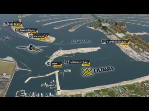 2015 UIM XCAT World Series, Round 2 - Live Webstream, Pole Position - Dubai, U.A.E.