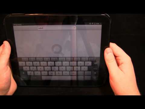 HP TouchPad Review Part 2