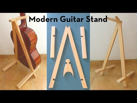 Let's Make a Modern Guitar Stand