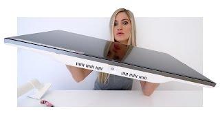 4k Monitor Unboxing! | iJustine